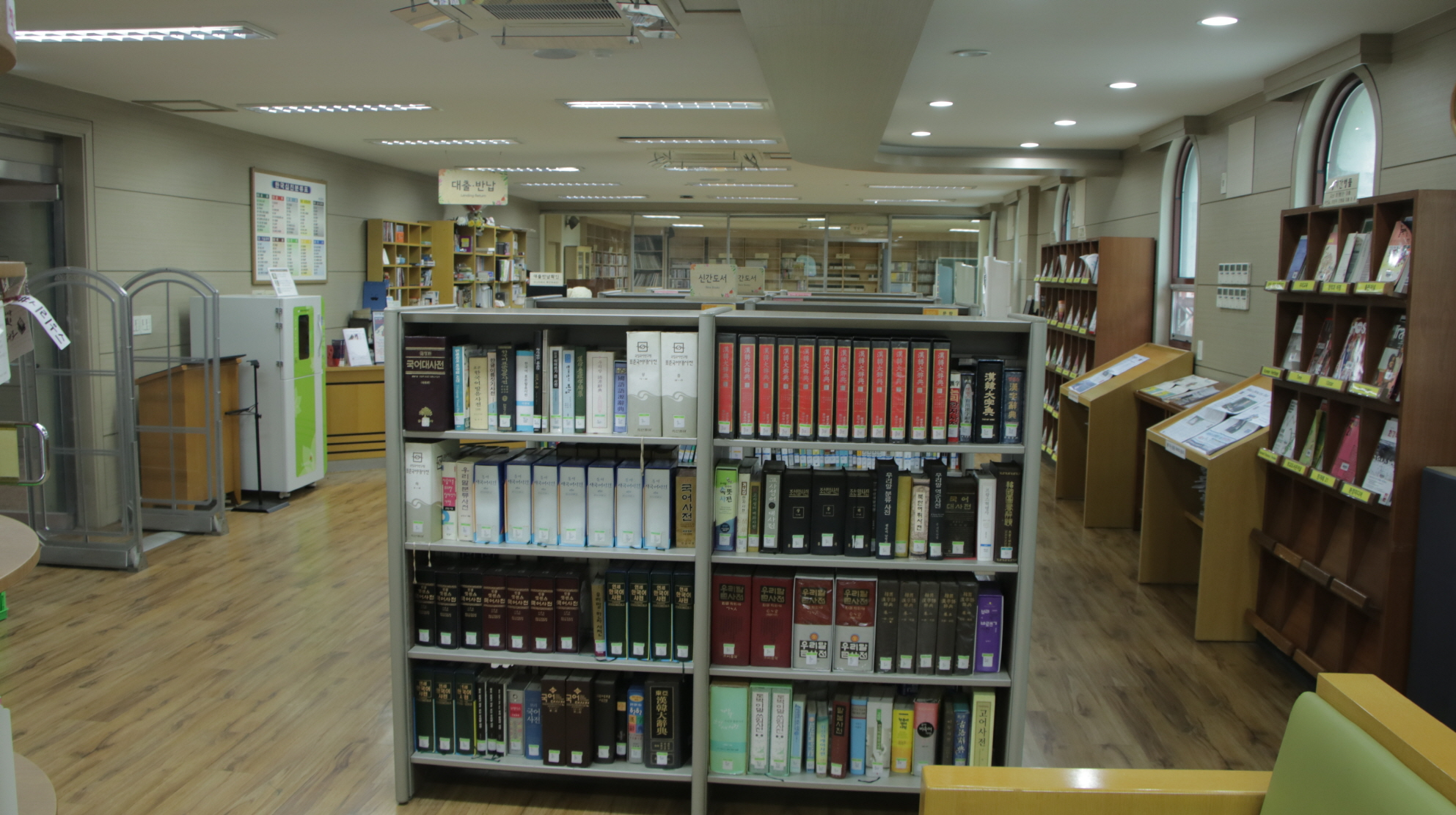 숙명여자고등학교 도서관(내부3)