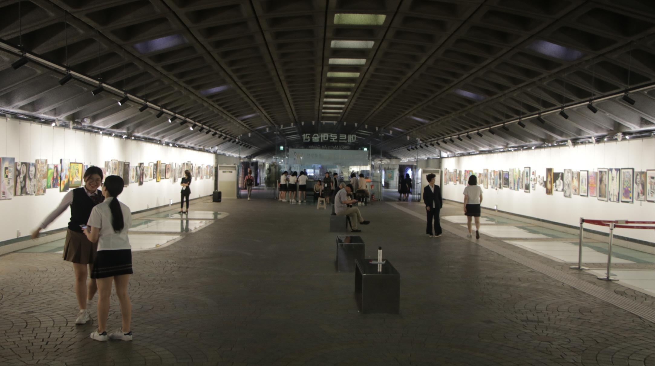 지하철 경복궁 역사(내부 전경2)