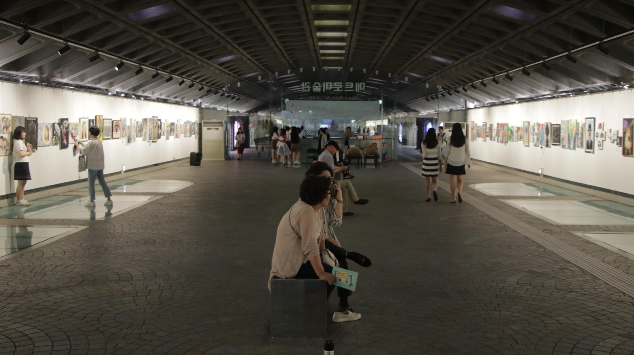 지하철 경복궁 역사(내부 전경3)